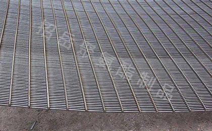 不锈钢条缝筛板(弧形筛)